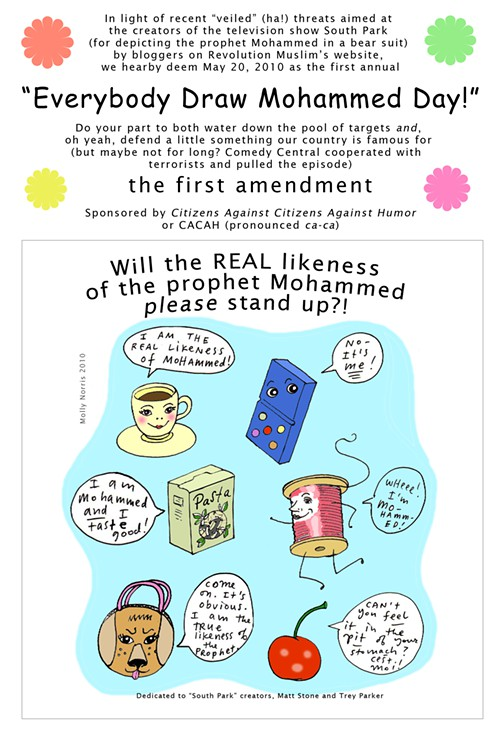 Opinion Forum » Will the Prophet Mohammed Please Stand Up
