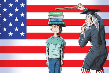 politics and education Betsy devos donald trump the every student succeeds act congress school choice federal spending on schools elections alyson klein and andrew ujifusa track what's going on in education .