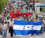 Teachers Demonstrate in Tegucigalpa, Honduras