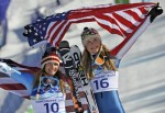 Julia Mancuso and Lindsey Vonn