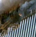 Victim Falling to His Death, 9/11/01