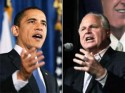 President Barack Obama and Rush Limbaugh