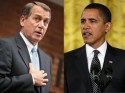 Speaker of the House Boehner and President Obama