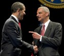 President Obama and Attorney General Holder