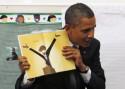 President Obama's Cartoon Book