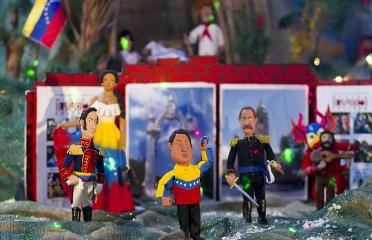 The Nativity, with Hugo Chavez