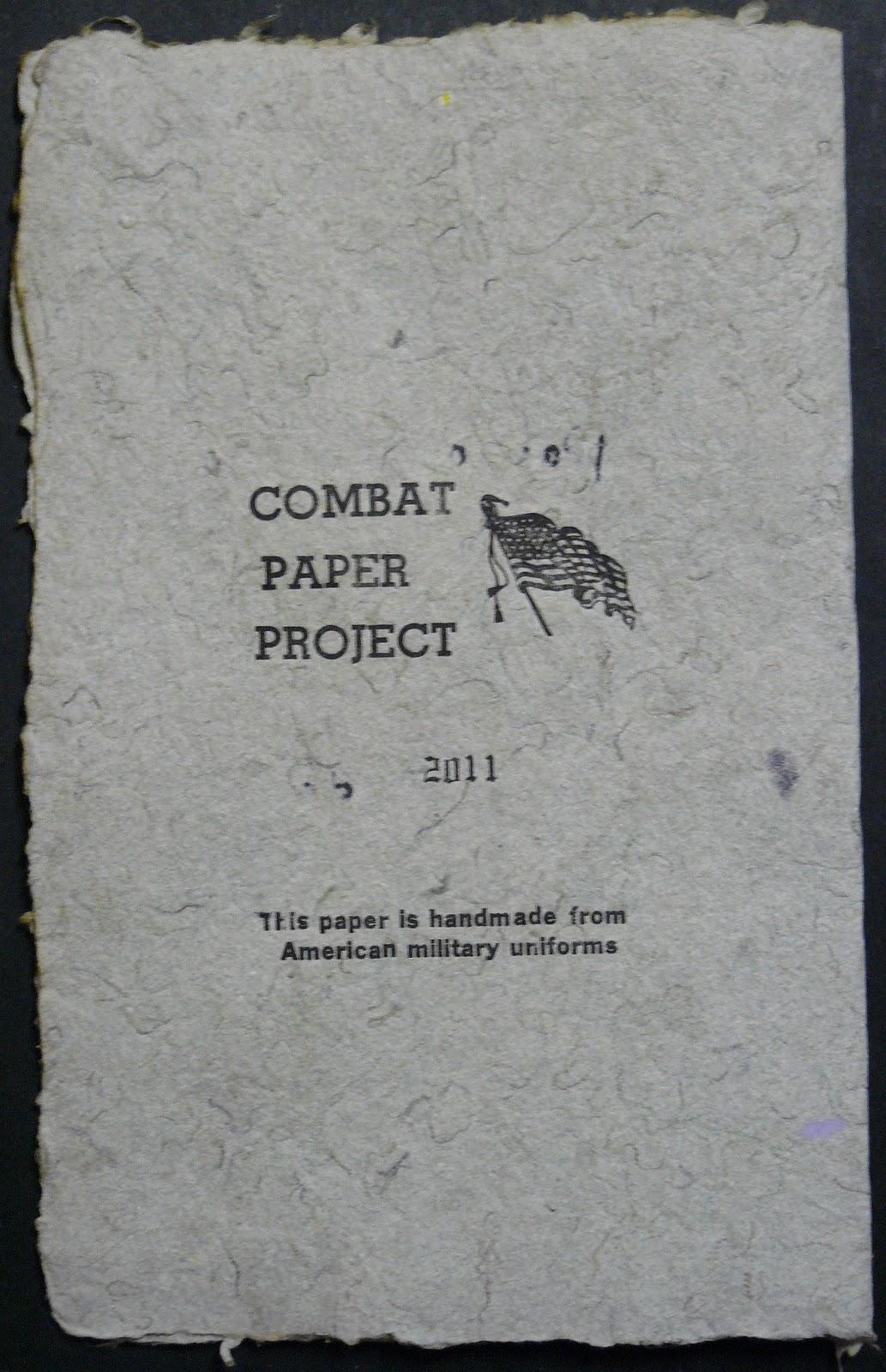 The combat zone essay