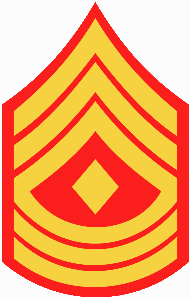 First Sergeant rank insignia for the United States Marine Corps (Photo: Wikipedia